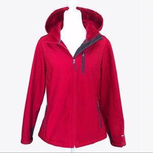 Free Country Softshell Fleece Full-Zip Jacket - L